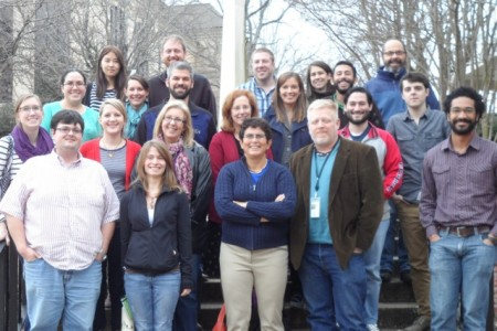 Participants and instructors for the 2014 SEED workshop in the UGA Microbiology Department